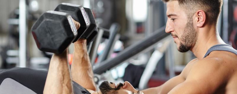 5kg哑铃能练肌肉吗