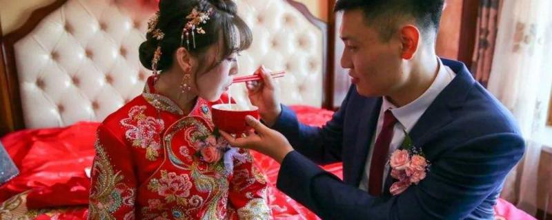 「新人」结婚为什么吃宽心面